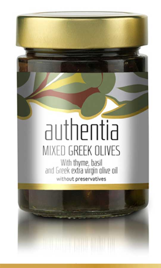 Mixed Greek Olives